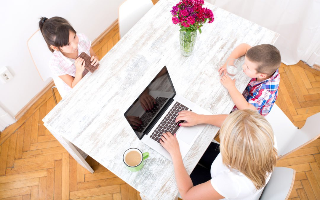 How to Write Consistently When You're Home With Kids