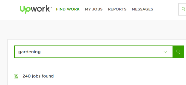 Upwork is a great place to search for a profitable freelance writing niche.