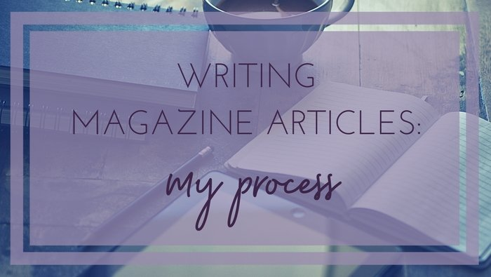how to write magazine articles